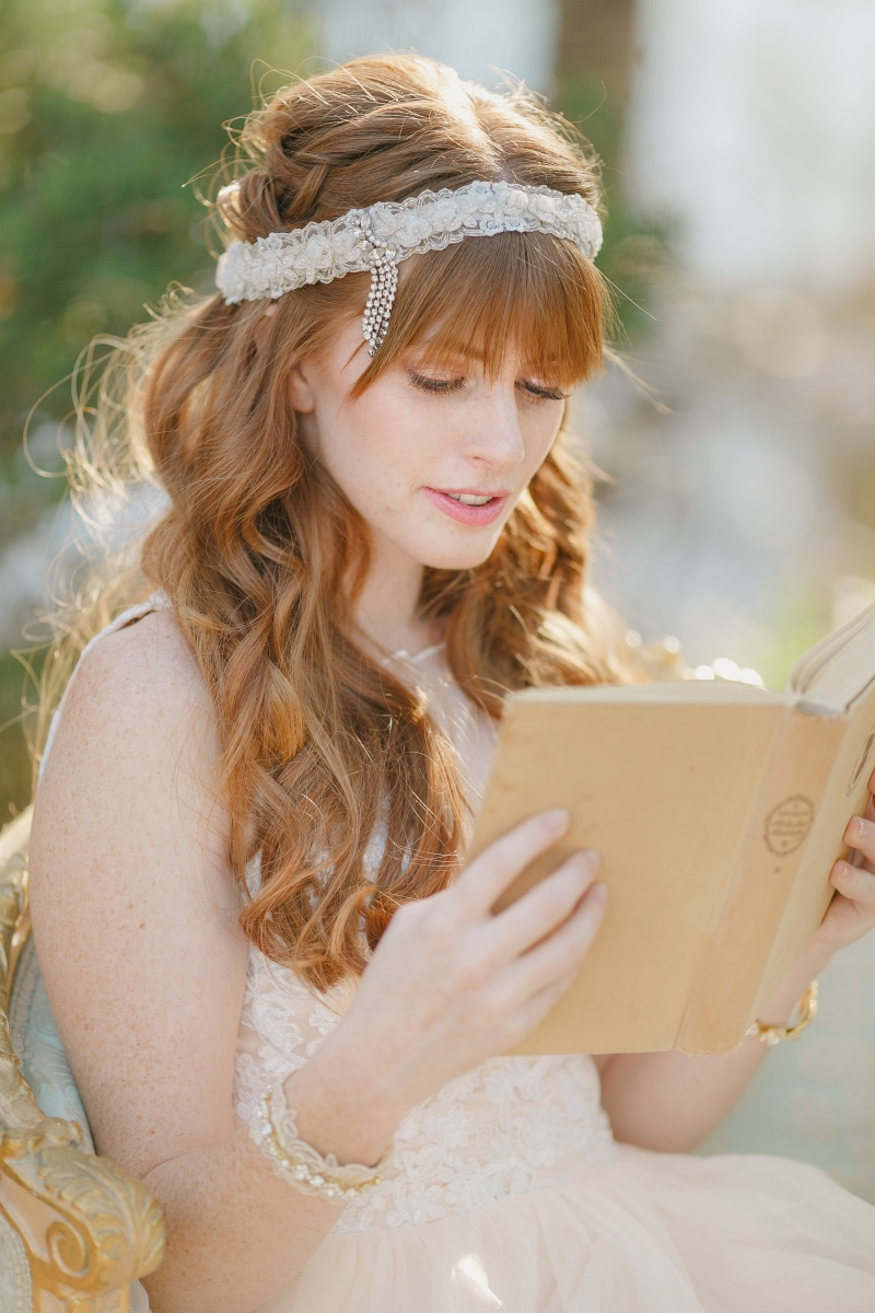 Vintage inspired bridal headpieces for the modern bride.