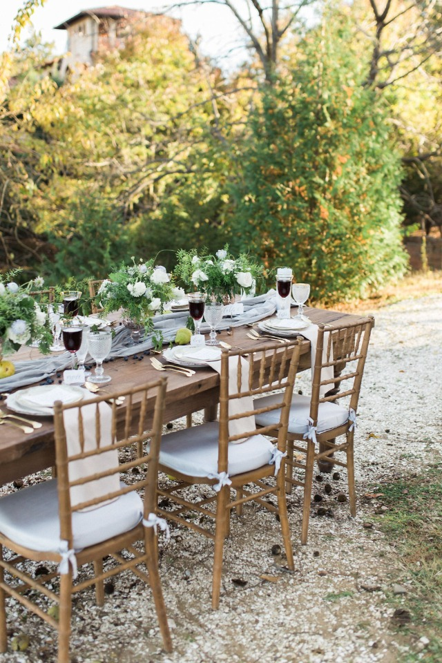 natural and elegant outdoor wedding reception ideas