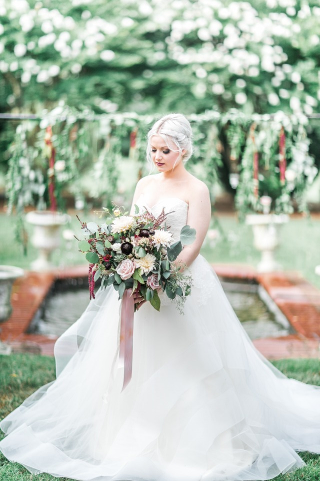 Dreamy bridal portrait idea