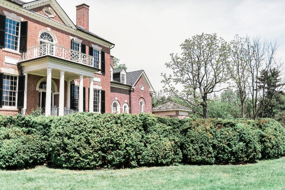 The historic Woodlawn mansion