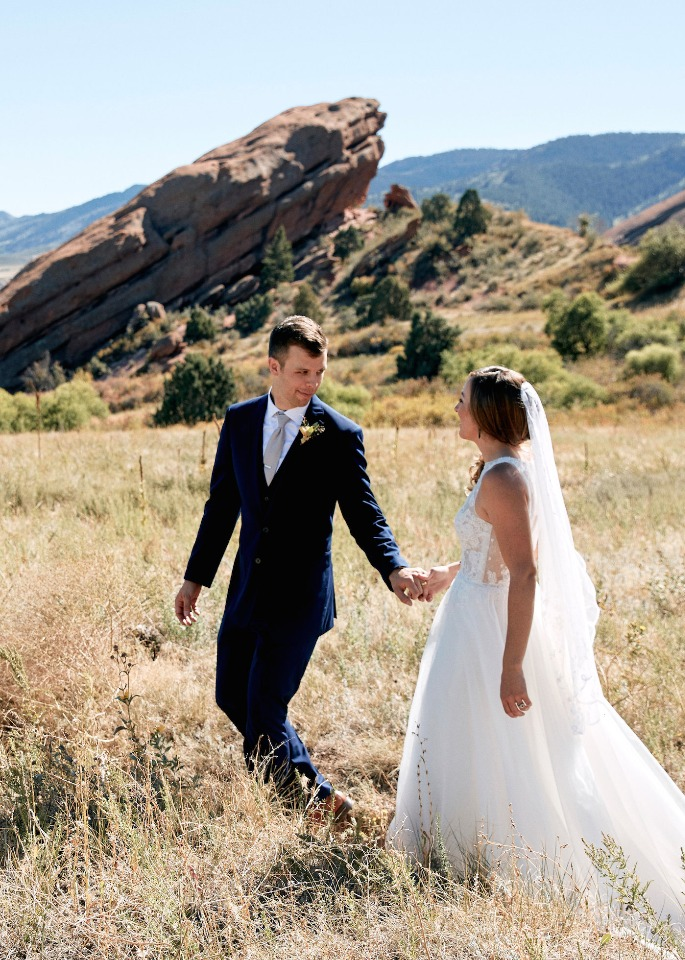 Red Rocks Trading Post wedding ceremony