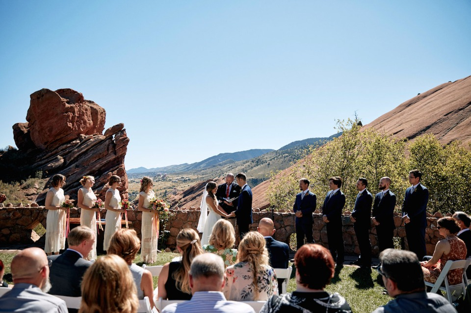tying the knot at Red Rocks Trading Post