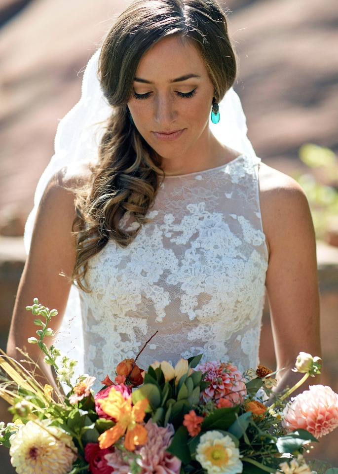 beautiful wedding bridal style