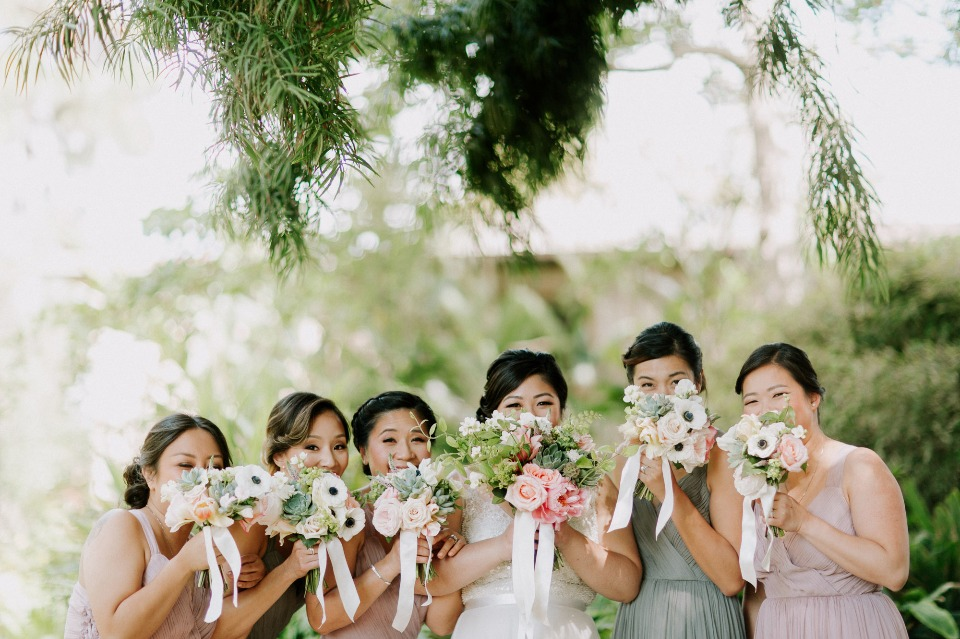 Adorable bridesmaid photo
