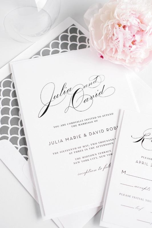 Inspiration Image from Shine Wedding Invitations