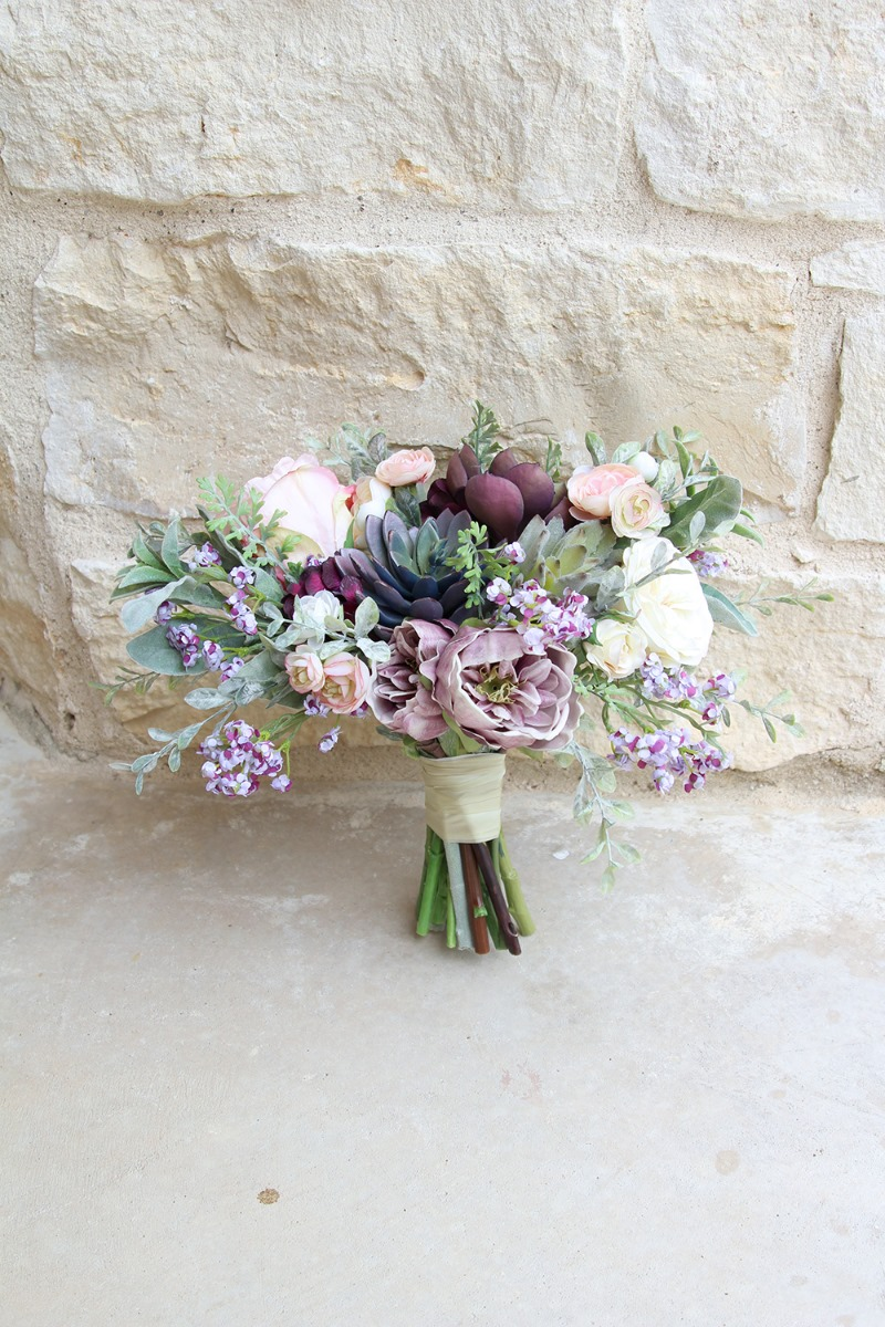 Romantic, whimsical bridal bouquets by Southern Girl Weddings