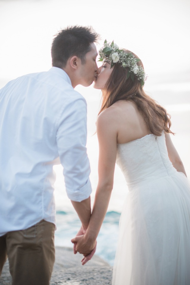 Beautiful pink and white wedding in Thailand