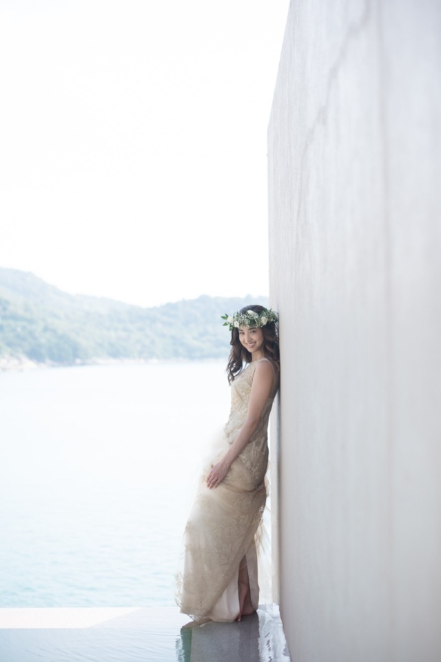 Beautiful bride in Thailand
