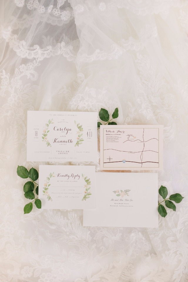 Minted wedding invitations carolyn and kenneths wedding day longwood estates invitation suite by minted junglespirit Images