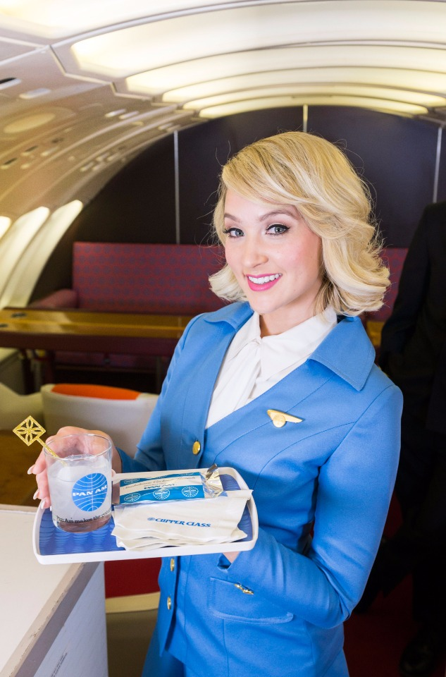 Pan Am Experience Stewardess