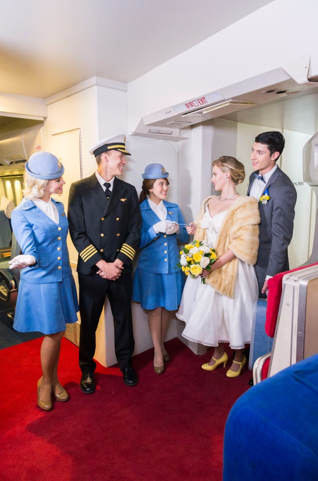 welcome aboard the Pan Am Experience
