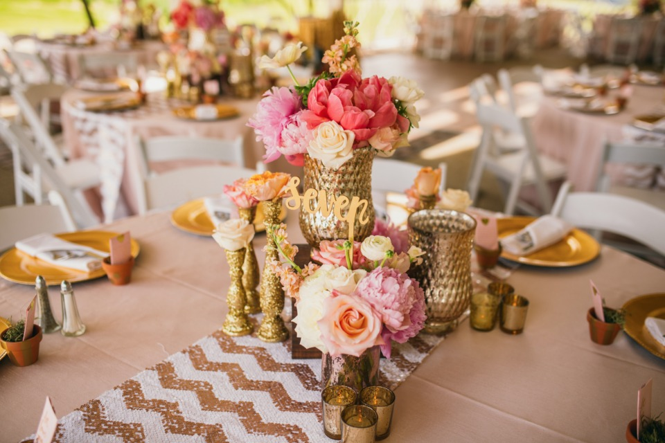 Mix and match centerpiece