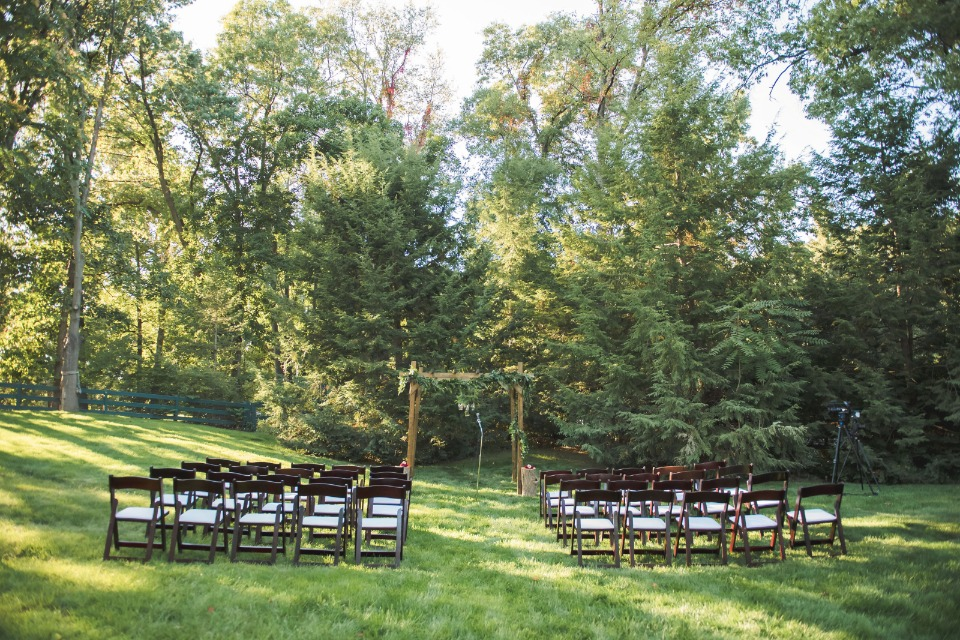 Lovely greenery filled wedding