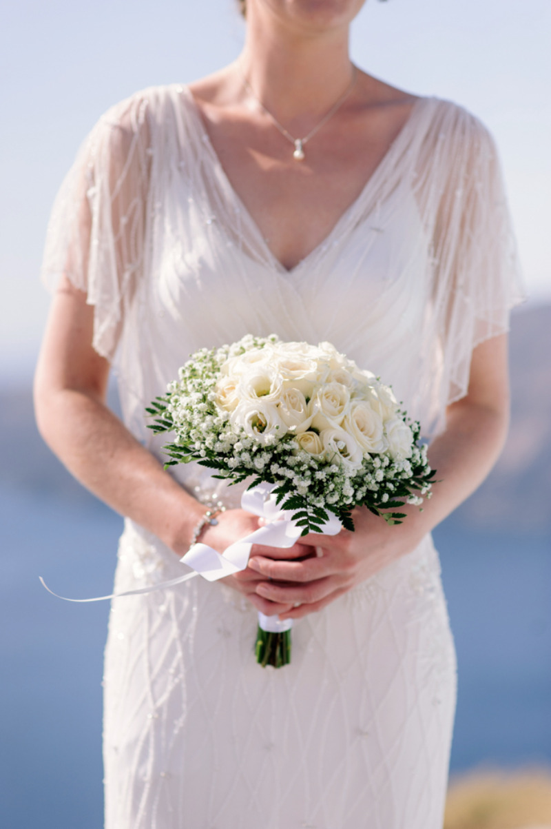 Lovely bridal bouquet!
