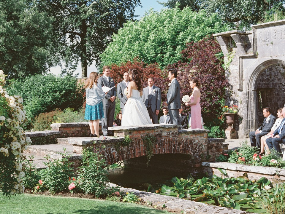 Get married on a stone bridge in Ireland