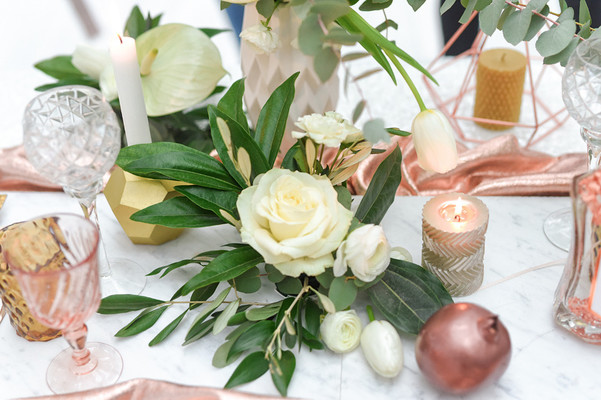 Copper And Marble And Orchids, Oh My! We Are Hardcore In Love