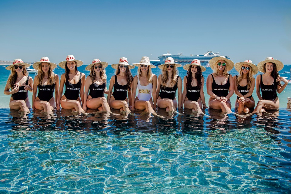FUN bachelorette party in Cabo