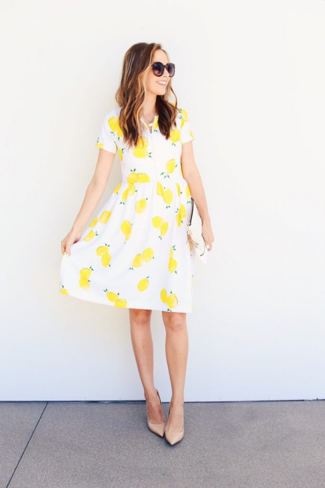 It's Summer Fun Time And We're Falling For Bright Colored Outfits