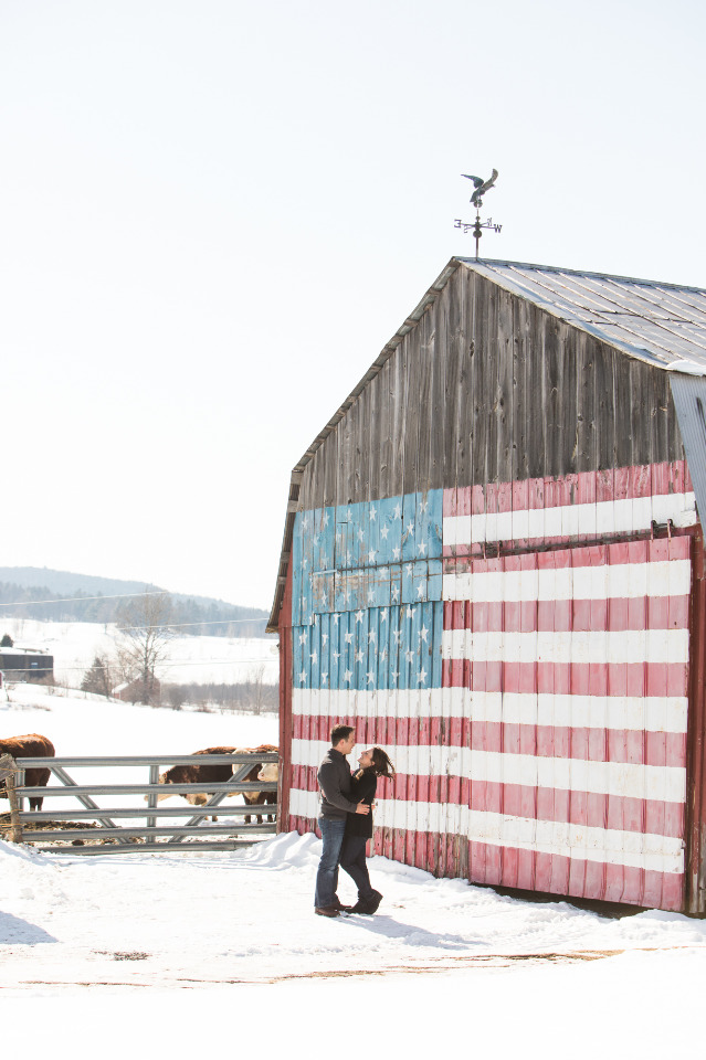 patriotic barn engagement venue