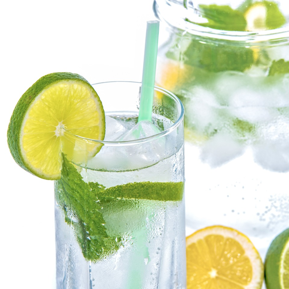 Drink loads of water for a healthy smile and clear skin