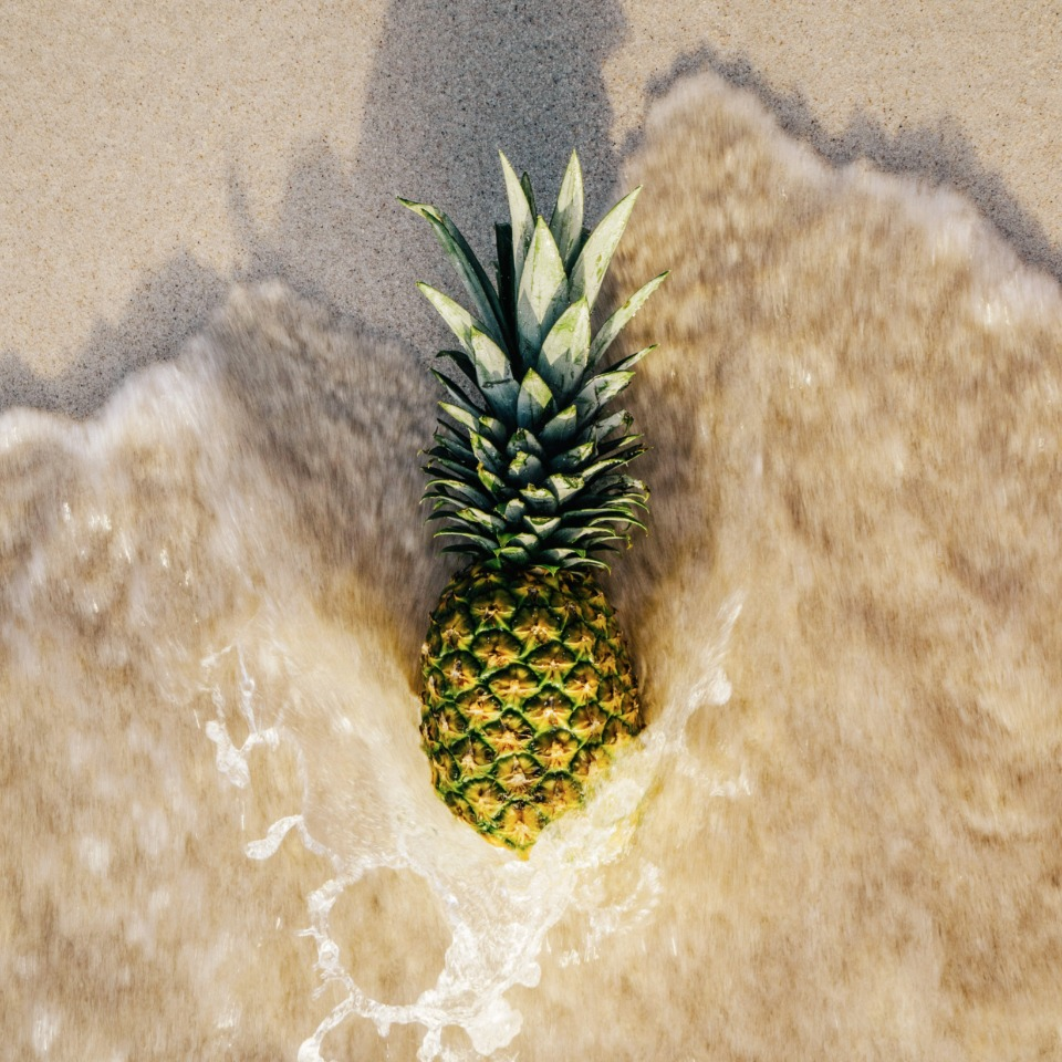 who doesn't love pineapple? Did you know it helps whiten teeth?