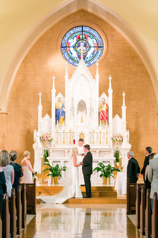 chapel wedding ceremony in Georgia