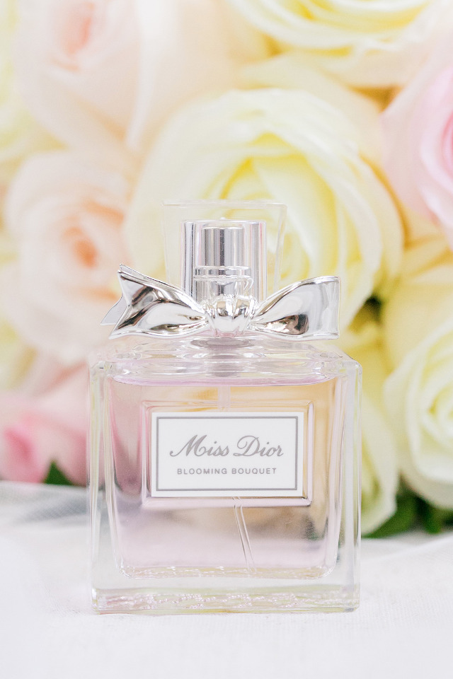 Miss Dior wedding perfume