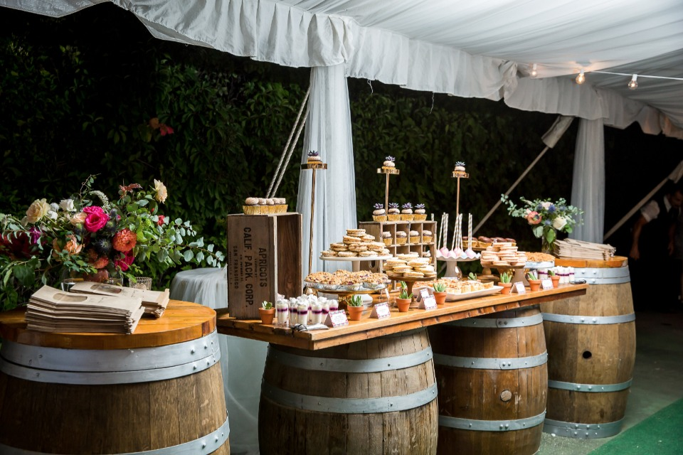 sweet tooth wedding table