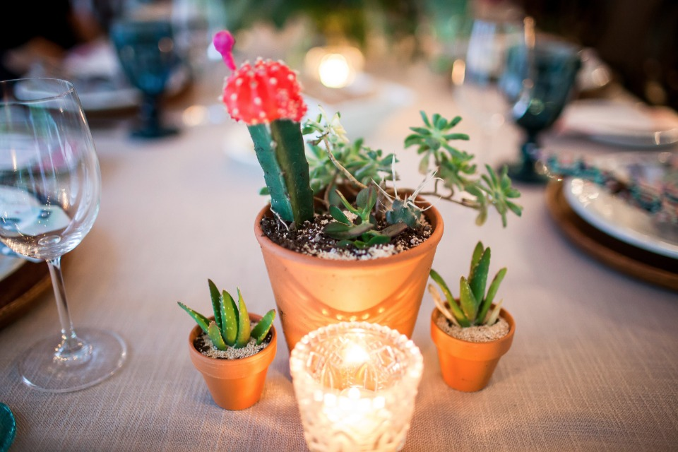 southwester centerpiece idea