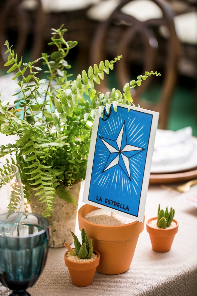 table number playing cards