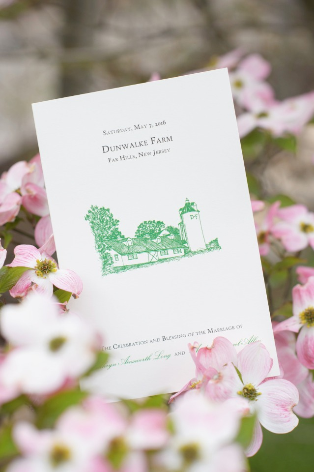 Classic and timeless wedding invites from Pickett's Press. Loving this illustrated farm invitation from