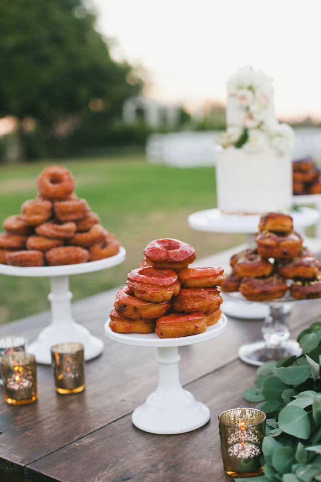 fun wedding donuts