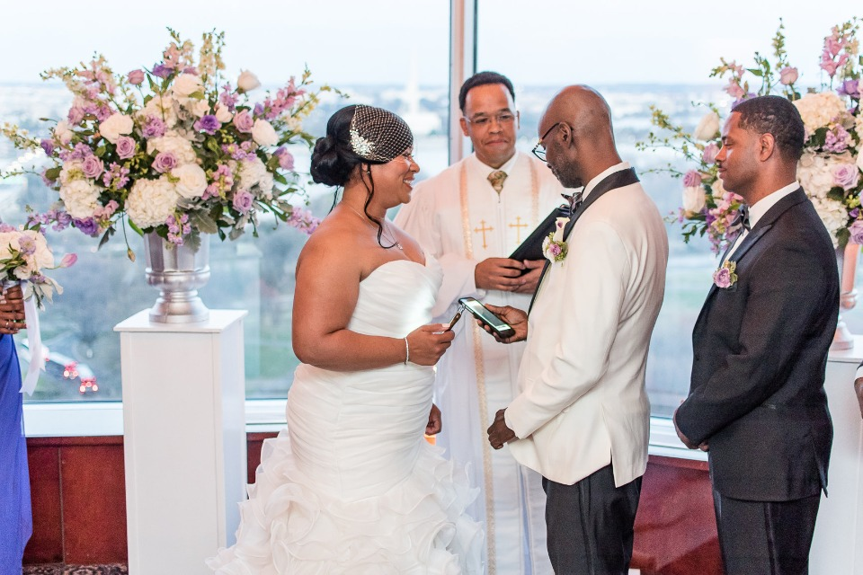 Ceremony with a view in Atlanta