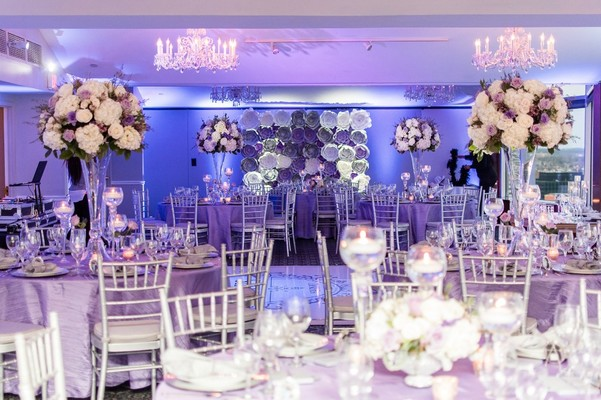 A Heartfelt Purple and Silver Wedding That Might Make You Cry