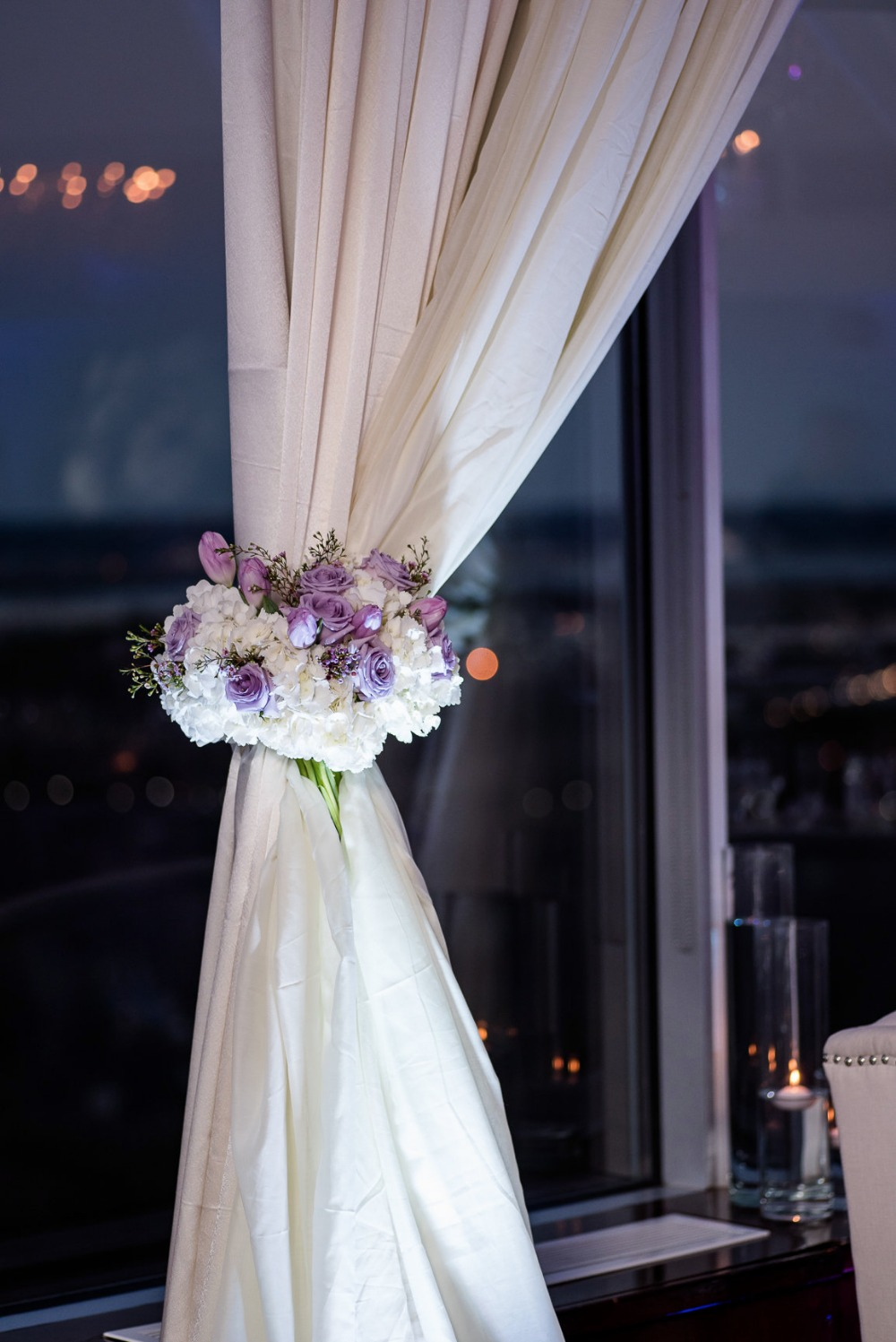 Gallery - A Heartfelt Purple and Silver Wedding That Might Make You Cry