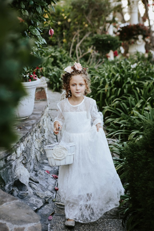 cute little flower girl