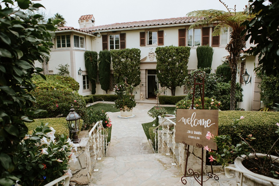 California garden wedding venue