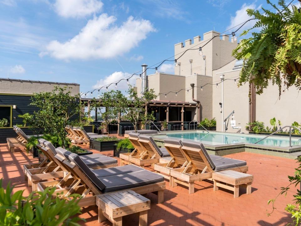 Ace Hotel Pool in New Orleans