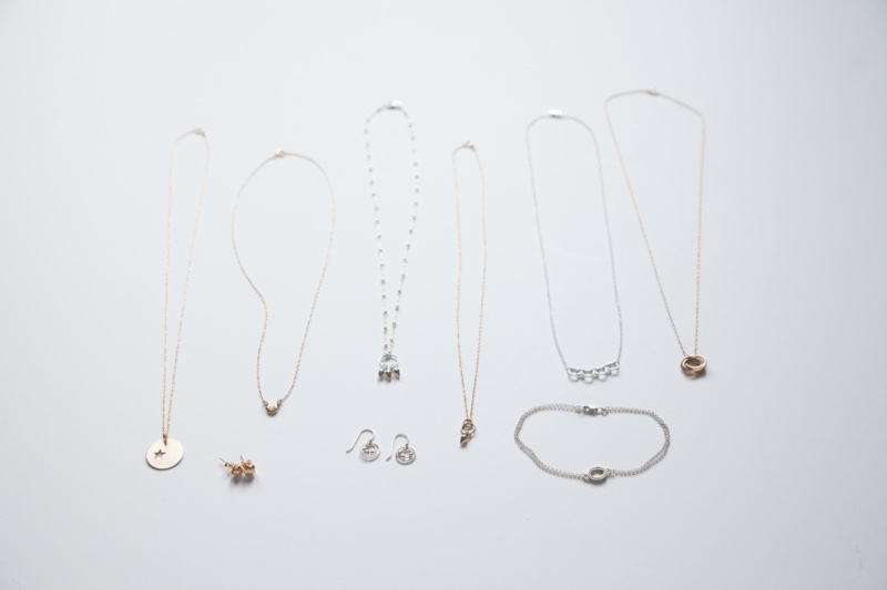 The Erin Pelicano Collection of tiny beautiful jewelry. Perfect bridal party gifts - filled with inspiration, handcrafted in sterling