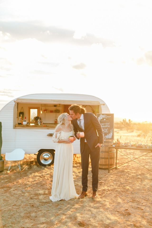 Celebrate love with this desert boho shoot