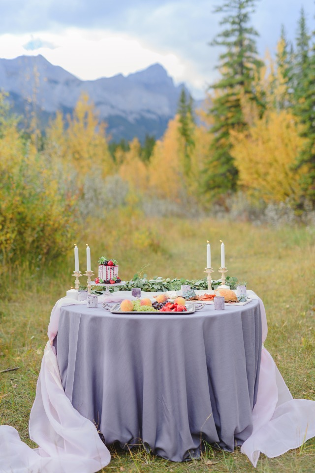 bright and cheery fall wedding ideas