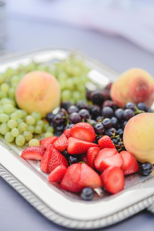 fresh fruit for your wedding