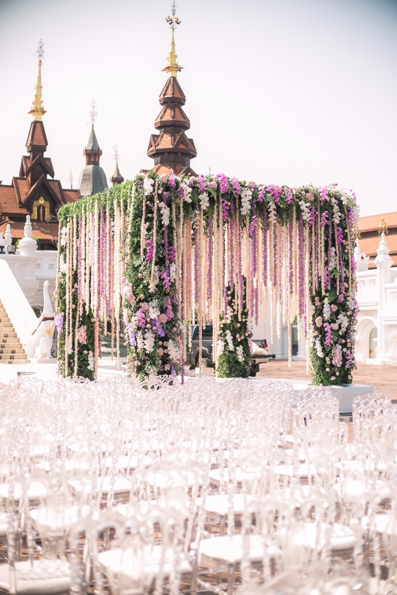 Dreamy over the top wedding in Chiang Mai from The Wedding Bliss Thailand