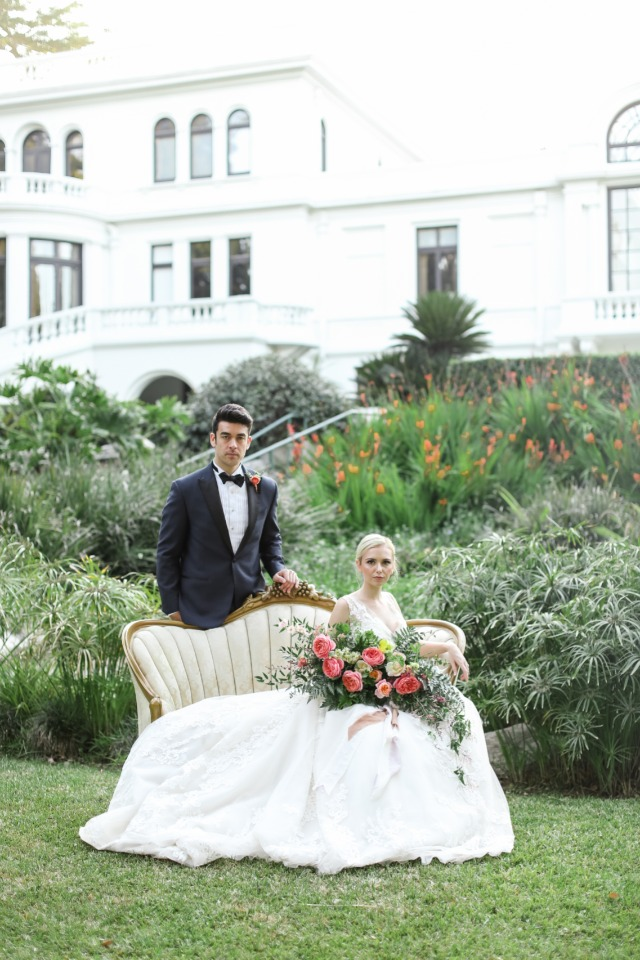 Dreamy southern styled shoot in California