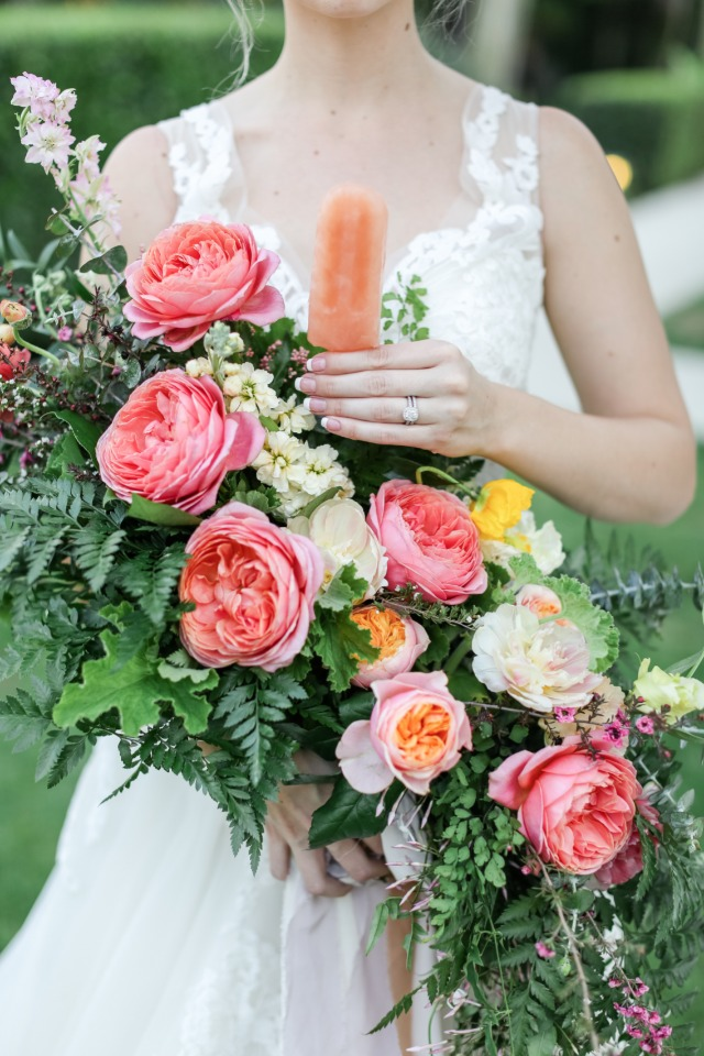 Popsicles and bouquets, what's not to love?