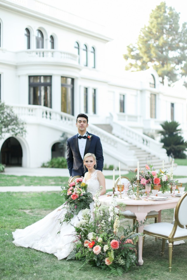 Southern inspired wedding inspo in California
