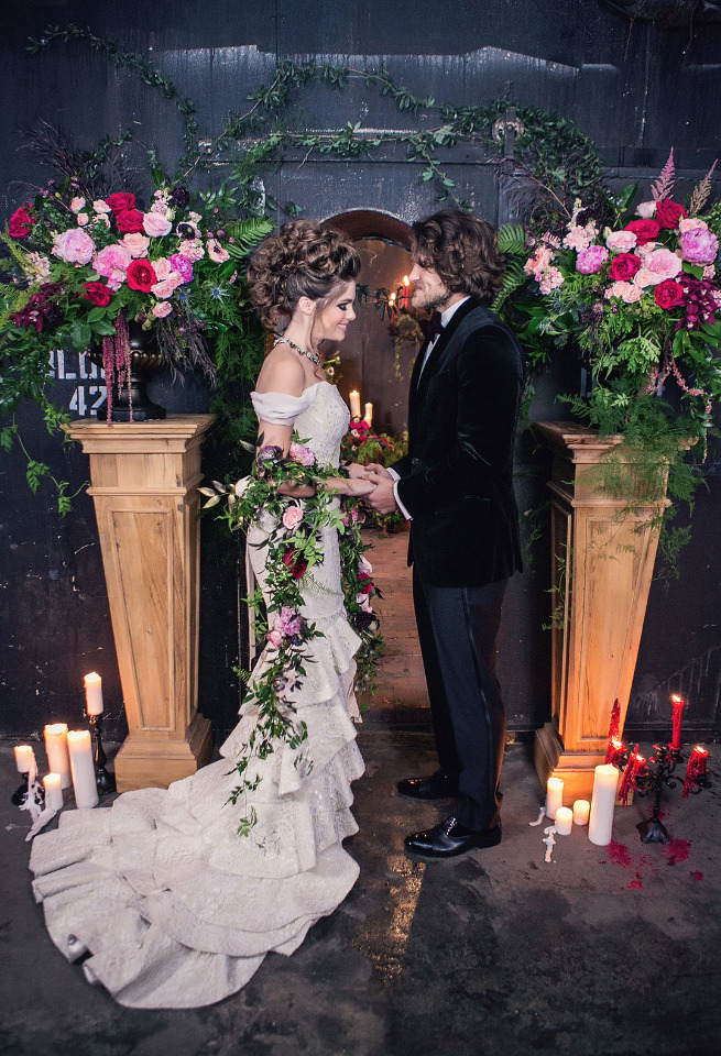 Romantic Weddings Just Got A Whole Lot Moodier And We Love It