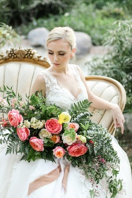 Spring Southern Charm Wedding Inspiration with a West Coast Twist
