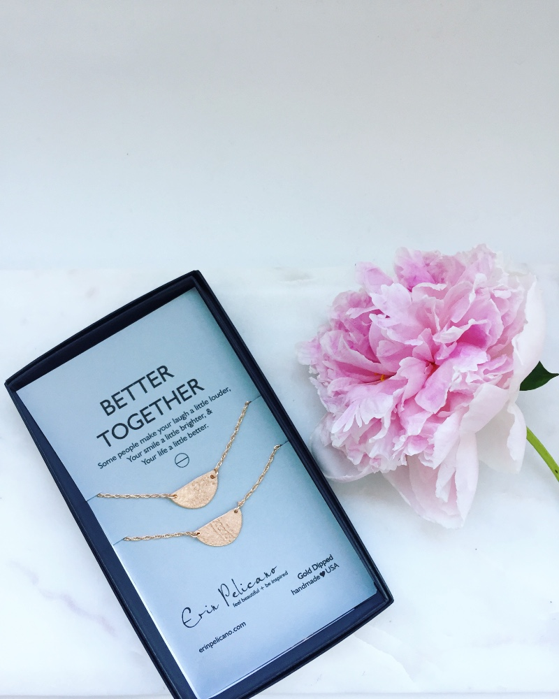Necklace sets for Besties and Sisters. Because you are Better Together!