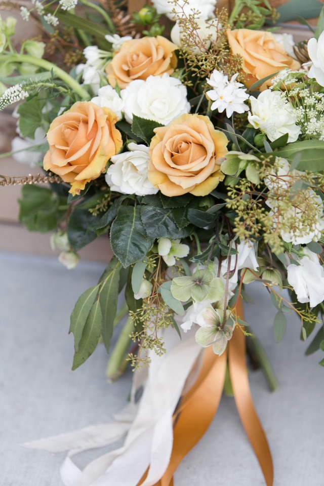 Beautiful St. Patrick's Day inspired bouquet